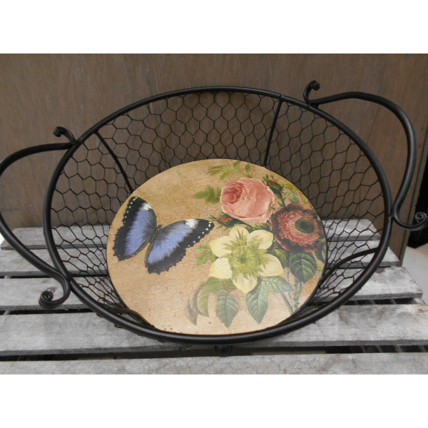 košík Vintage 31x27,5x13 cm