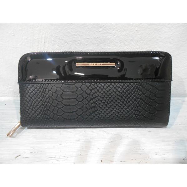 dámska peňaženka čierna 20x10 cm