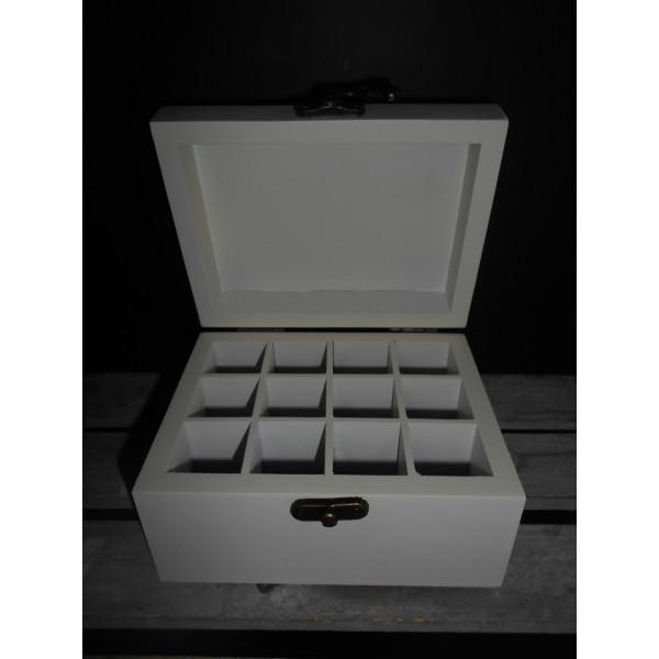 drevený box na vonné oleje 13,5x10,5 cm