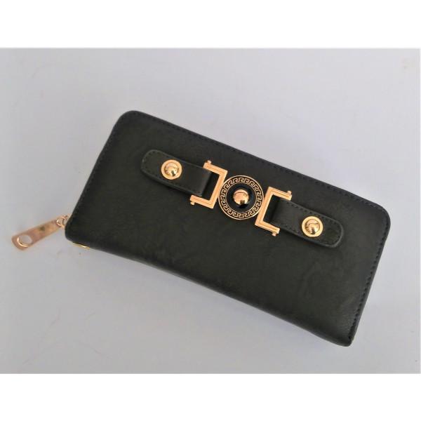 dámska peňaženka hnedá  20 x 10 cm