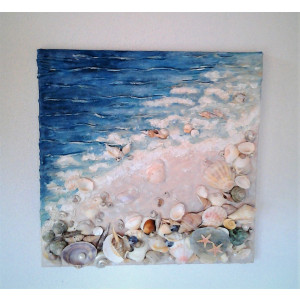 obraz morská vlna 30 x 30 cm