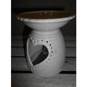 keramická aróma lampa srdiečko 12 cm