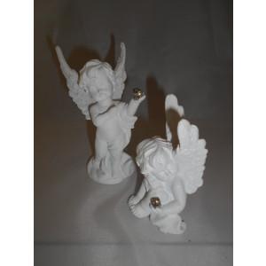 biely anjelik s kamienkami, 2 druhy