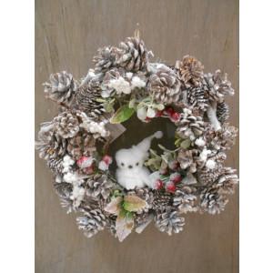 vianočný veniec 30 cm