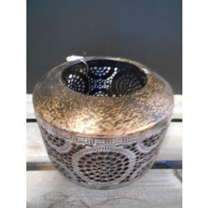 kovový svietnik Orient 9,5x7,5 cm