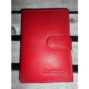dámska kožená peňaženka na doklady 12,5x8,5 cm