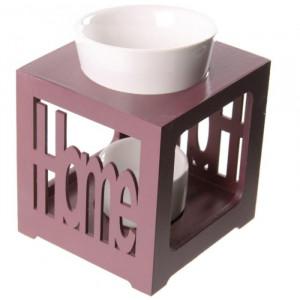 drevená aróma lampa Home  12,5 x 9,5 x 9,5 cm EJA00039